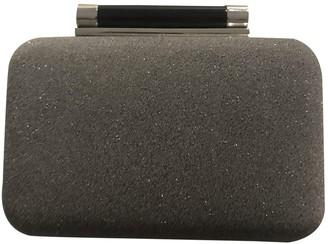 Diane von Furstenberg Metallic Leather Clutch bags