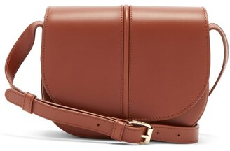 A.P.C. Betty Smooth Leather Cross-body Bag - Tan