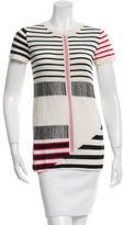 Thakoon Silk Striped Sweater