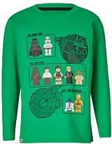 Lego Children's Star Wars T-Shirt, Green