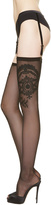 NEOPRENE DESIRE Suspender stockings Desire