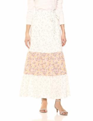 BCBGeneration Women's Floral Dancers Maxi Skirt