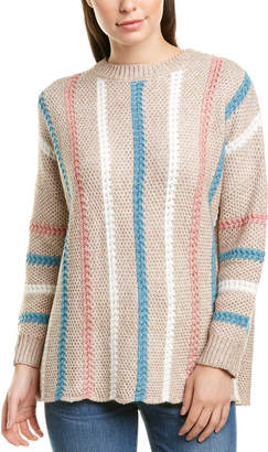 Forever 21 70 Degree 70F/21C Stripe Sweater