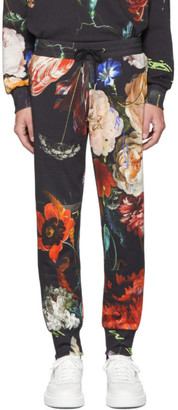 Paul Smith SSENSE Exclusive Multicolor Floral New Masters Print Lounge Pants