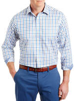 Gazman Easy Care Twill Check Shirt