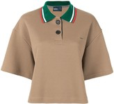 Kolor contrast collar polo shirt