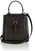 Meli-Melo Women's Floriana Mini Woven Cross Body Bag Black