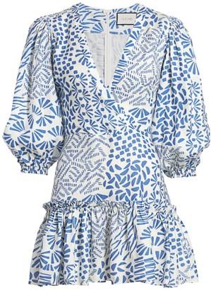 Alexis Idony Puff-Sleeve Dress
