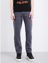 Moschino Straight-fit stretch-denim jeans