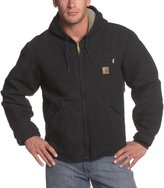 Carhartt Men's Big & Tall Sherpa Lined Sandstone Sierra Jacket J141