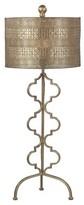 Lazy Susan Metal Table Lamp Gold