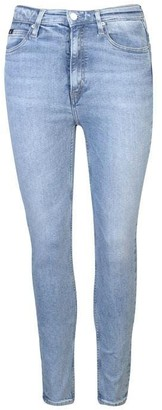 Calvin Klein Jeans Washed Stretch Skinny Jeans