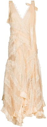 Zimmermann Charm lace trim gown