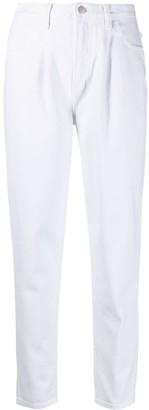 J Brand High-Rise Straight-Leg Jeans