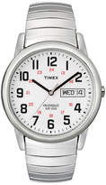 Timex Easy Reader Mens Stainless Steel Expansion Strap Watch T204619J
