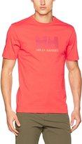 Helly Hansen Men's HH Logo T-Shirt, Melt Down, L