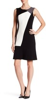 T Tahari Aida Colorblock Dress