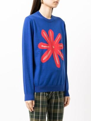 Paul Smith Graphic-Print Crewneck Sweatshirt