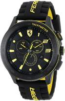 "Ferrari Men's 0830139 ""Scuderia Xx"" Stainless Steel Watch with Silicone Strap"