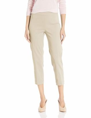 Slim Sation SLIM-SATION Women's Pull On Skinny Crop with Slant Front Pockets Surrond Comfort