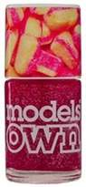 Models Own The Sweet Shop 2014 Nail Polish Collection (Scented) - Rhubarb and Custard 14ml by