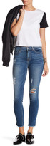 7 For All Mankind Gwenevere Raw Hem Destroyed Ankle Jeans