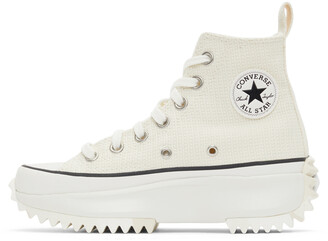 Converse Off-White Marble Run Star Hike High Sneakers