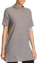 Eileen Fisher Funnel-Neck Tunic Top