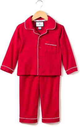 Petite Plume Classic Flannel Pajama Set, Size 6M-14