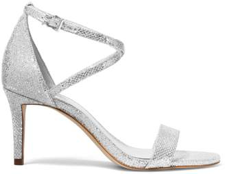 MICHAEL Michael Kors Ava Metallic Ankle Strap Sandals