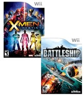 Nintendo X-Men Destiny & Battleship Value Pack for Wii