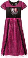 Mattel Monster High Girls Poly Nightgown Pajamas (L (10/12))