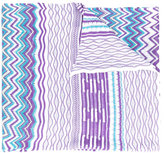 Missoni zig-zag knitted scarf - women - Polyester/Viscose - One Size