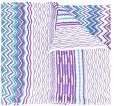 Missoni zig-zag knitted scarf