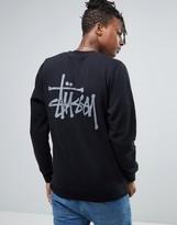 Stussy Sweatshirt With Back Print