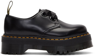 Dr. Martens Black Ribbon Lace-Up Holly Derbys