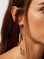 Free People Caged Crystal Earrings