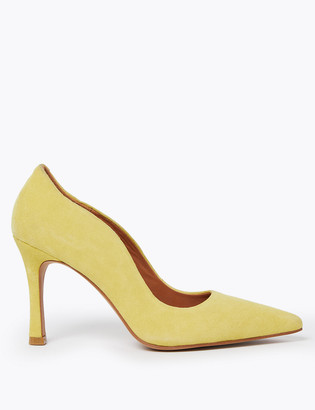Marks and Spencer Suede Stiletto Court Shoes