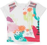 Deux Par Deux Printed T-Shirt
