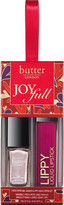 Butter London JoyFull 2 Pc Petite Nail Lacquer & Lippy Liquid Lipstick Set