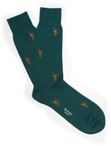 Paul Smith Monkey-jacquard socks