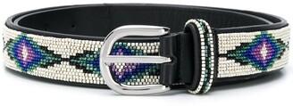 Isabel Marant Elsa bead-embellished belt