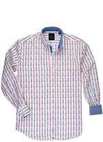 Tailorbyrd Check Woven Dress Shirt (Big Boys)