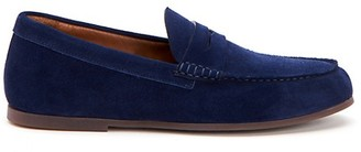 Aquatalia Kirk Suede Loafers