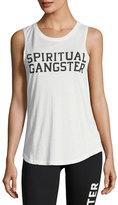 Spiritual Gangster Varsity Logo Sleeveless Muscle Tank