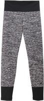 adidas Solid Tights (Kid) - Black/Grey-Small