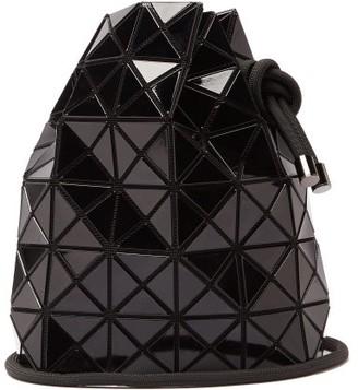 Bao Bao Issey Miyake Wring Drawstring Pvc Bucket Bag - Black