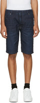 Diesel Blue Denim Krooshort-Ne Jogg Shorts