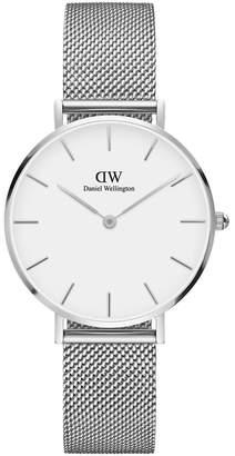 Daniel Wellington Petite Sterling 32mm Silver Watch