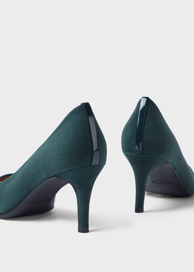 Thumbnail for your product : Hobbs Amy Suede Stiletto Court Shoes